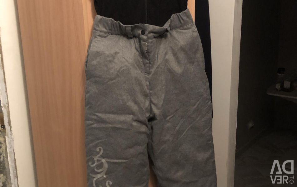 Trousers for the girl a transformer