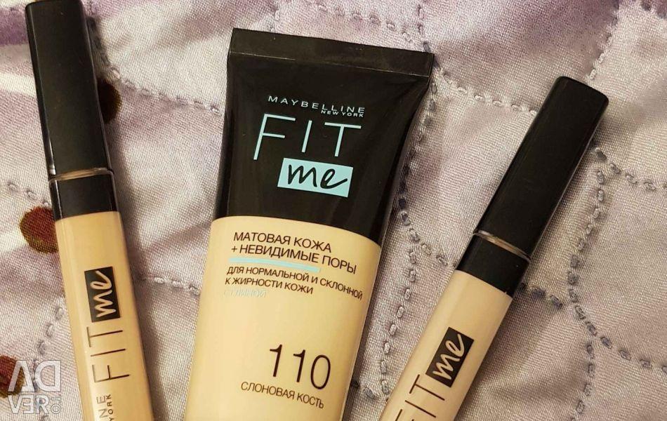 Makeup set of tools