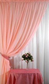 Curtain voilic peach 400 * 270