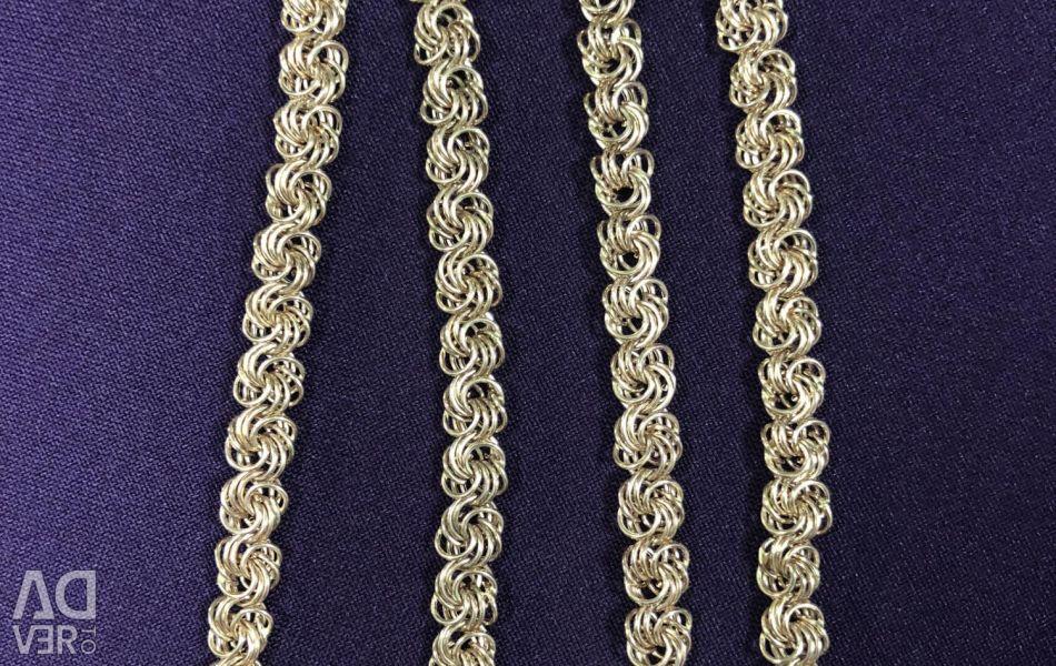 Golden chain of roses (lightweight)