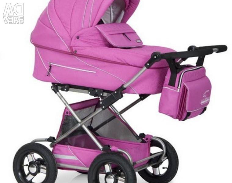 Baby stroller Riko Balerina LUX 2 in 1