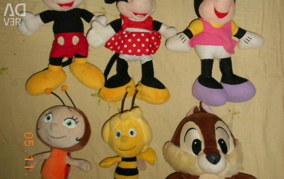 Діснеївські іграшки.