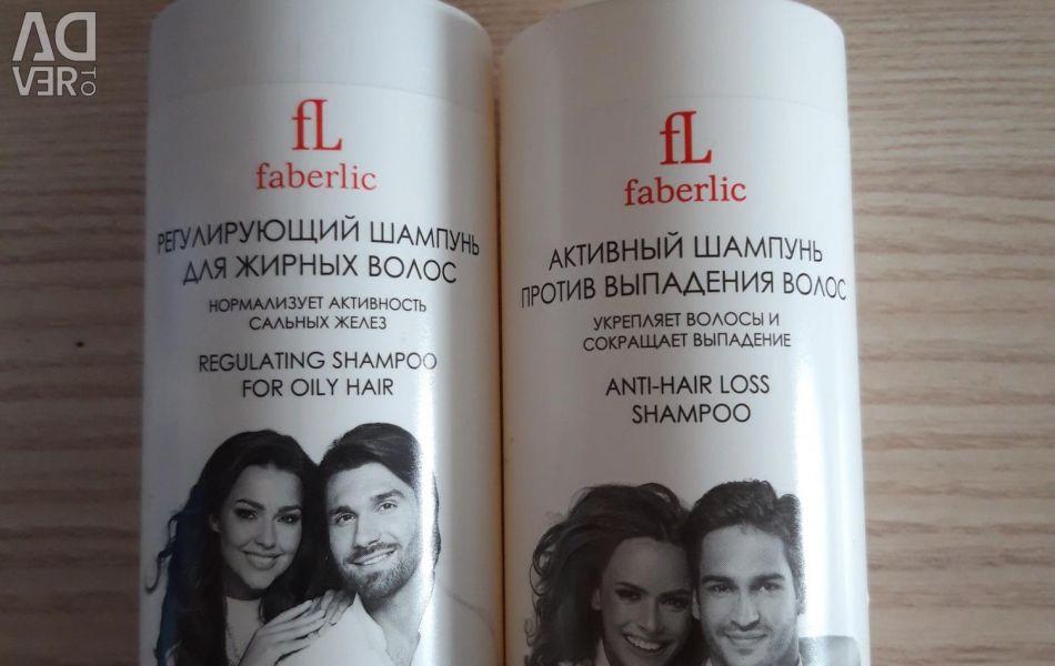 New shampoos 200ml