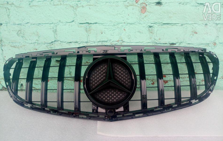 Γκριλ ψυγείου Mercedes W 212 2013- μαύρο E