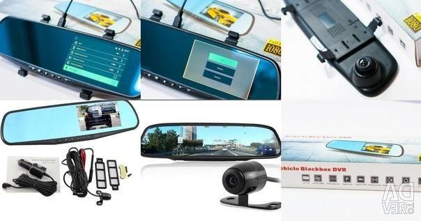 DVR 2x Cam Vehicle Blackbox DVR new