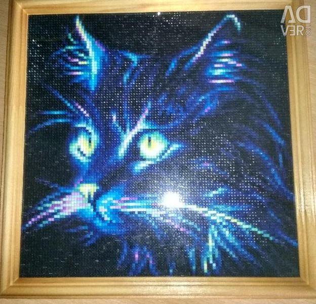 Diamond mosaic painting 25 × 25cm