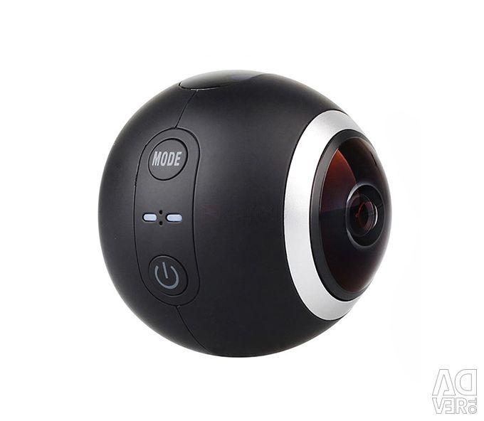 Камера SJCAM SJ360 360 градусов 2K - черный