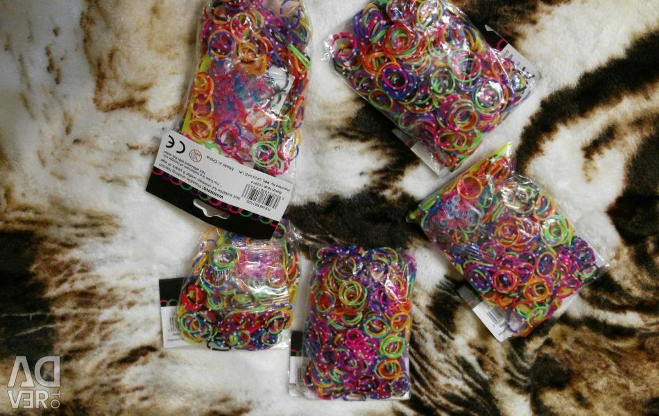 Ελαστικά για ύφανση βραχιόλια (νέο)