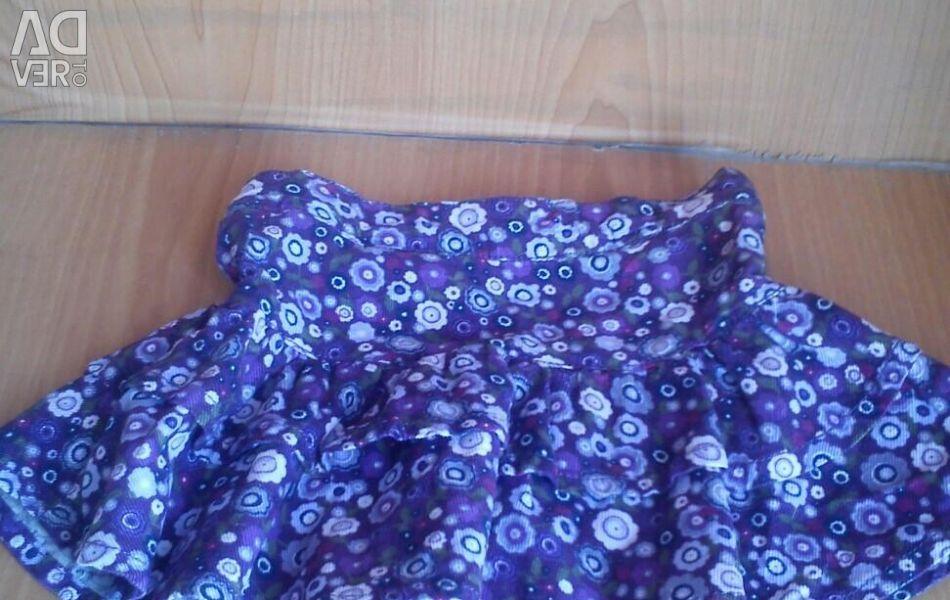Βελούδινη φούστα