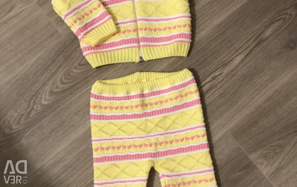 New knitted suit
