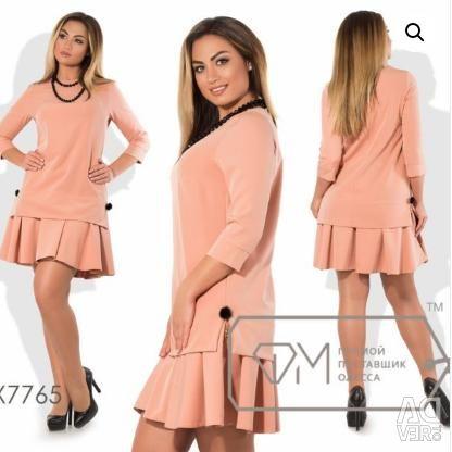 A beautiful new flared bottom dress