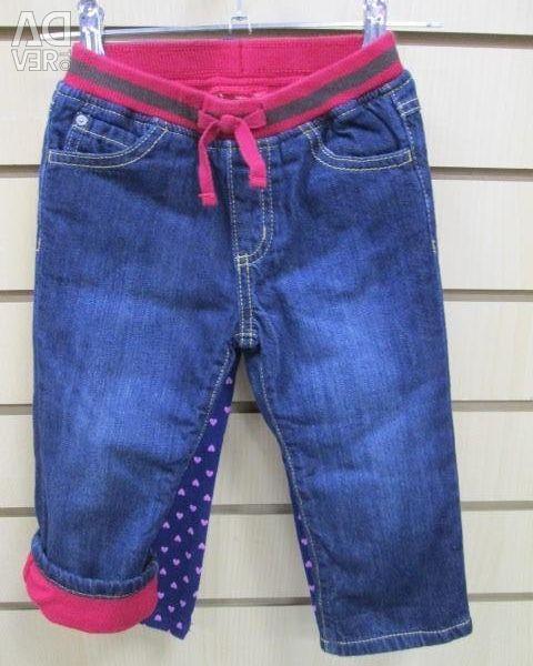 Jeans GYMBOREE, fleece lining