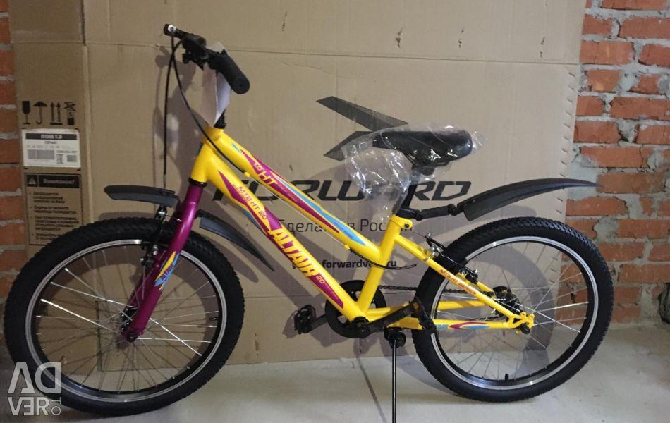 New children's bike Altair MTB 20 1.0