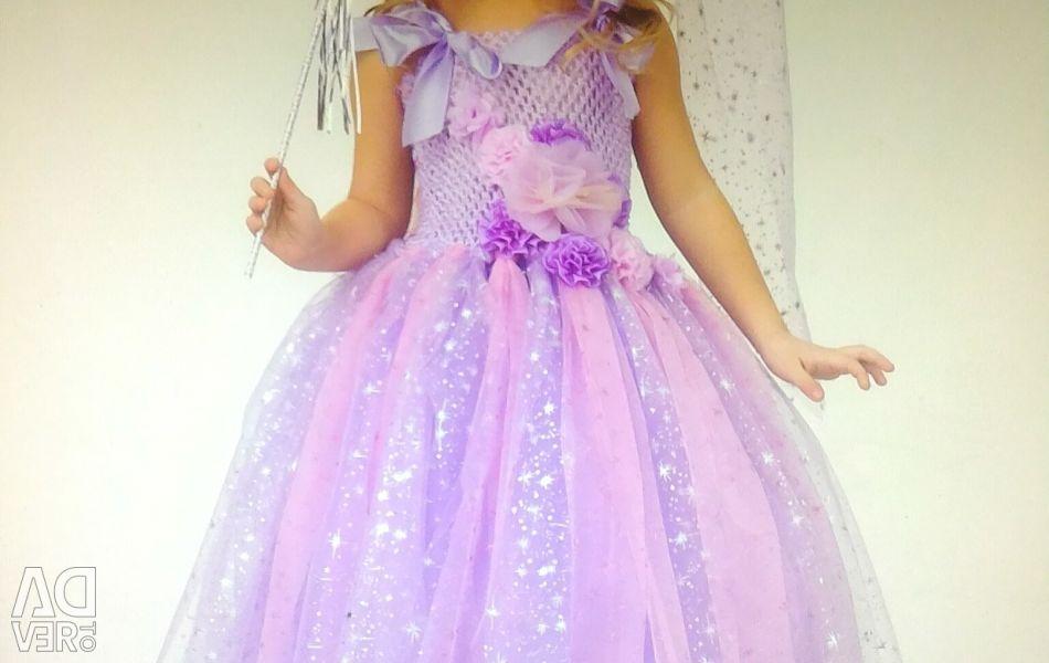 🌲 Праздничный костюм Розовой Феи - волшебницы. Ра