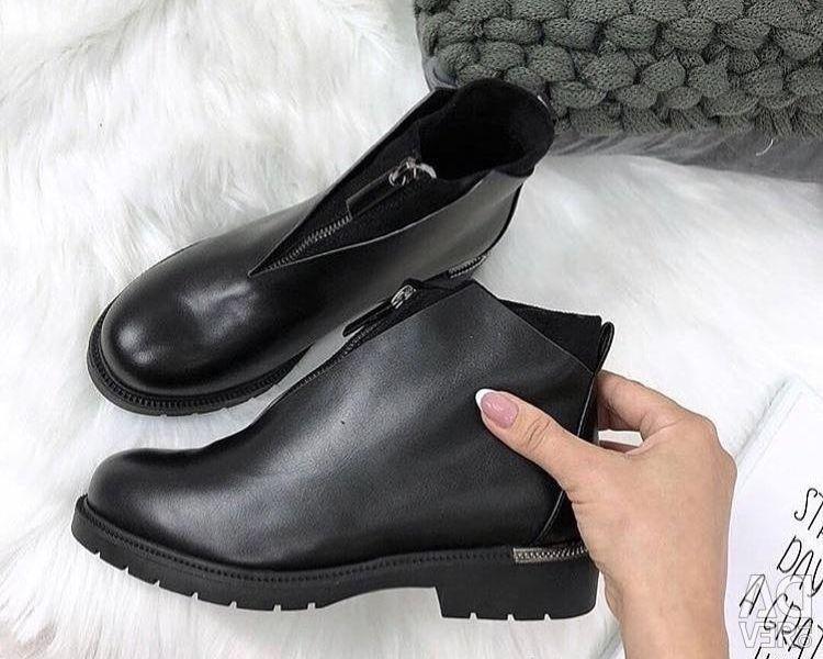 New shoes. Demi
