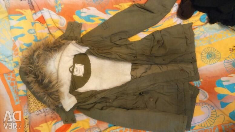 Parka warmed on the back girl134-140