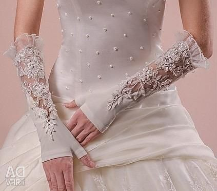 Весільні рукавички нові