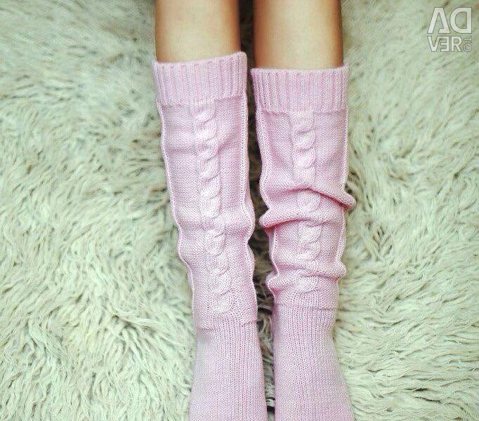 Knee socks stockings
