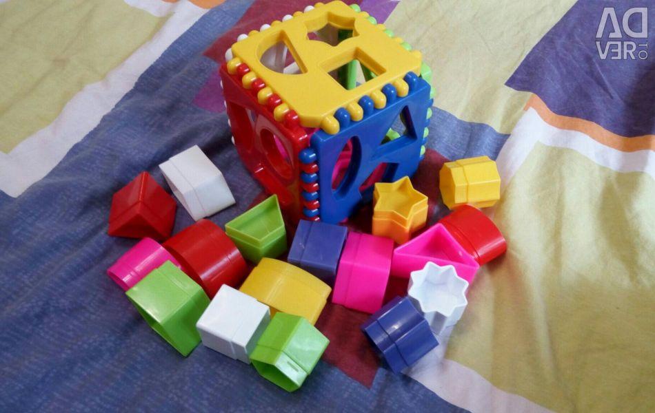 Logical cube sorter
