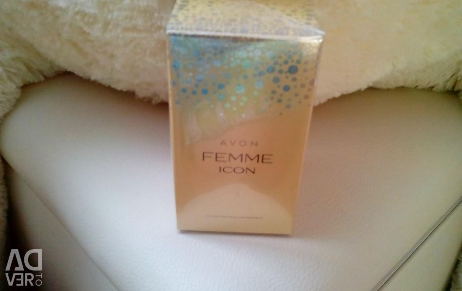 Perfume in packaging, new