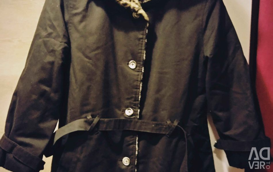 Пальто-полупальто 44-46
