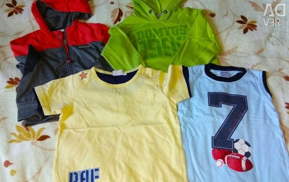 Πακέτο παιδικών ρούχων, μέγεθος 104