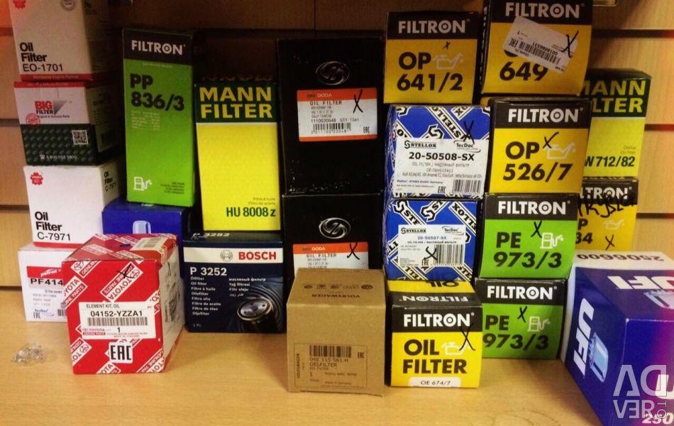 Filter oil Filtron Mann Bosch
