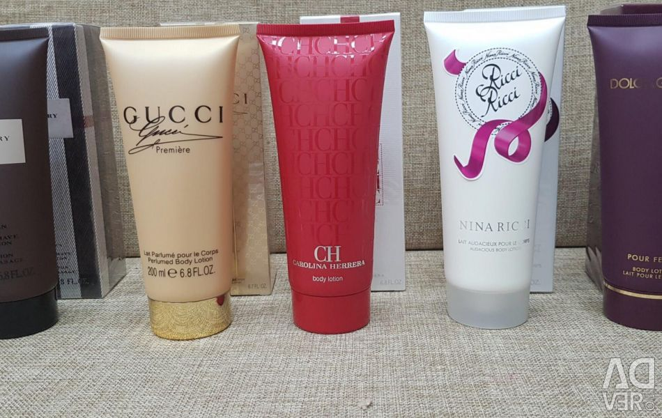 Body Lotion Perfumed