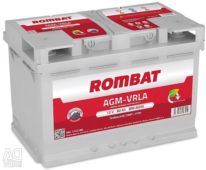 Battery Rombat AGM 80 Ah