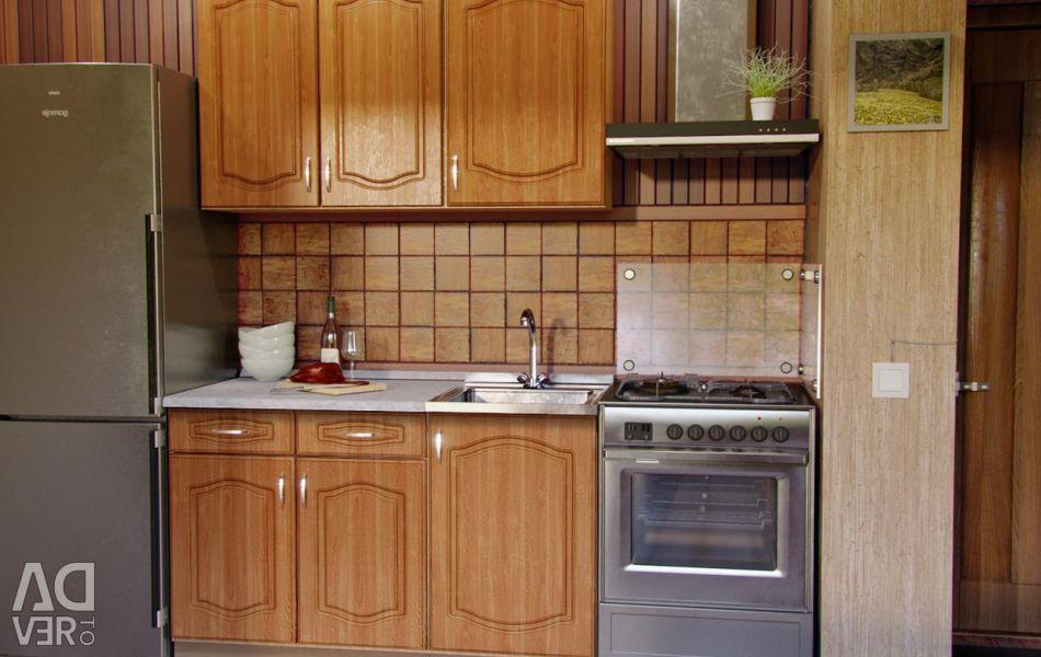 Κουζίνα ELEN 130 cm κερασιά MDF