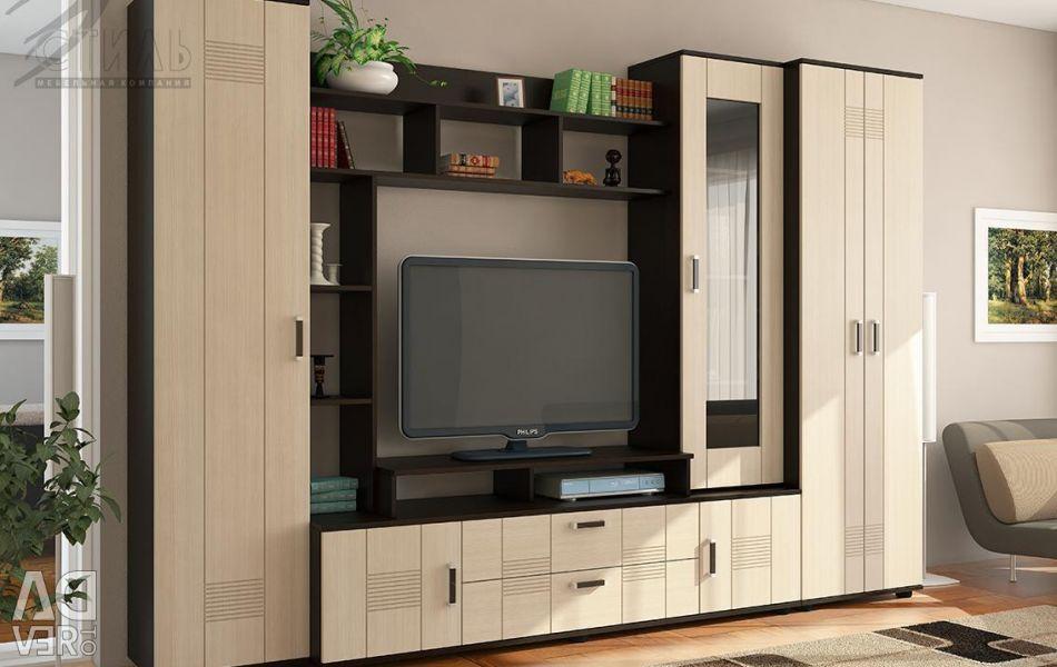 Σαλόνι-Style 7A MDF με ντουλάπα