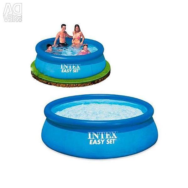 Intex, Pool Easy Set, 244x76 cm, No. 28110