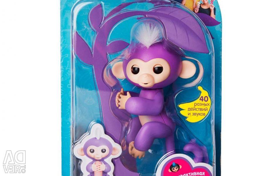 Διαδραστική FINGERLINGS 3704A Monkey Mia