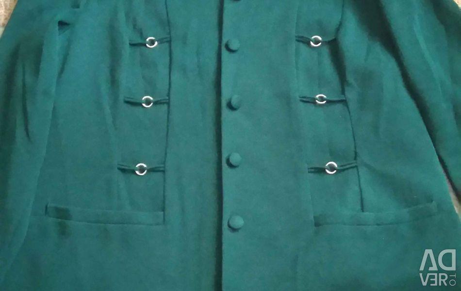 Jacket knit.malahit.colors