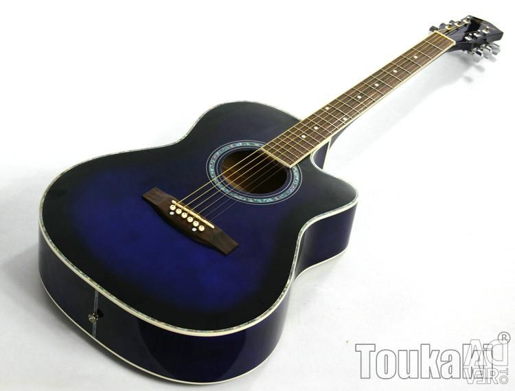 Acoustic 4/4 Guitar (New) + Accessories