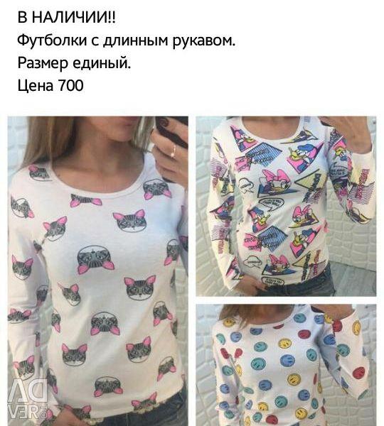 Tricouri cu mâneci lungi
