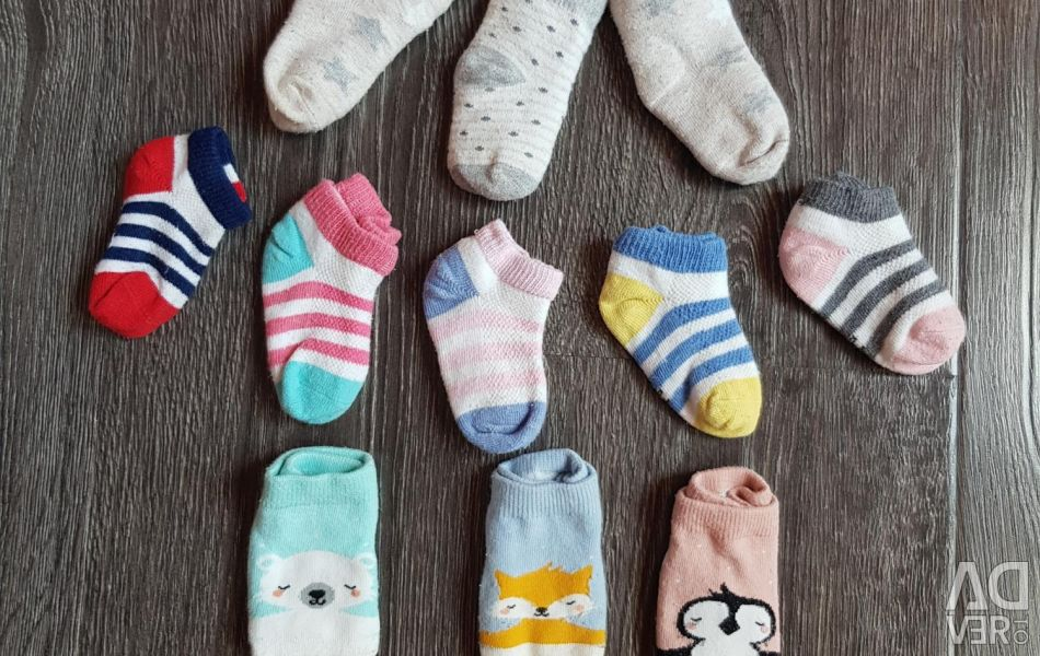 Socks from 0 to 1 year old