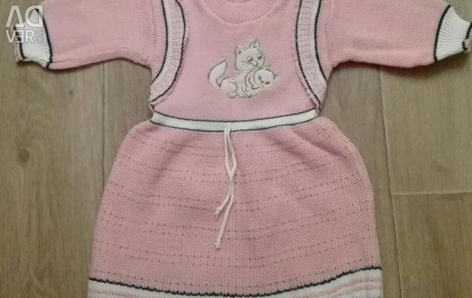 Dress for a girl under one year old