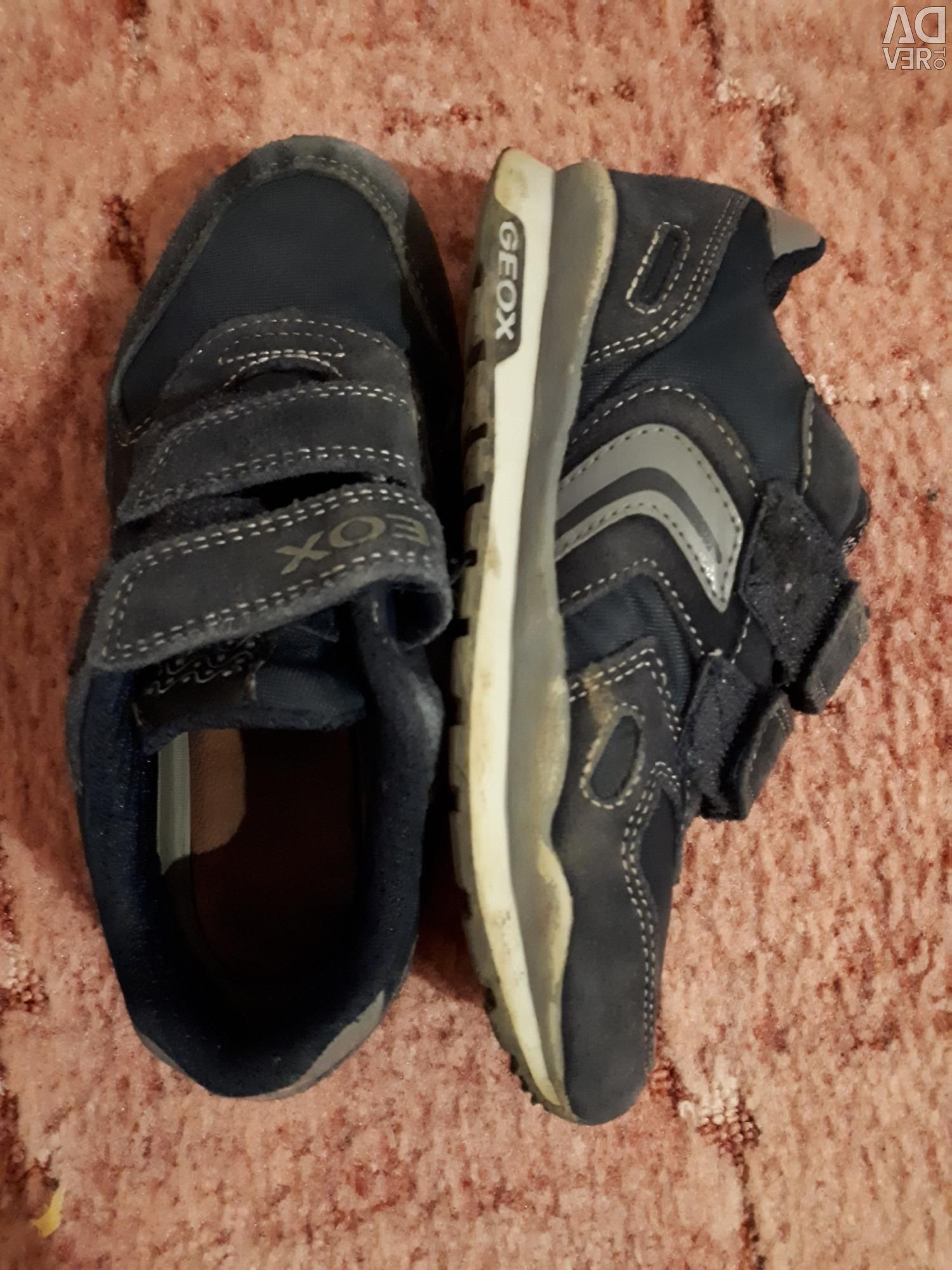 Sneakers GEOX SochiAdvert to sell Price 650 ₽ Posted 3282020