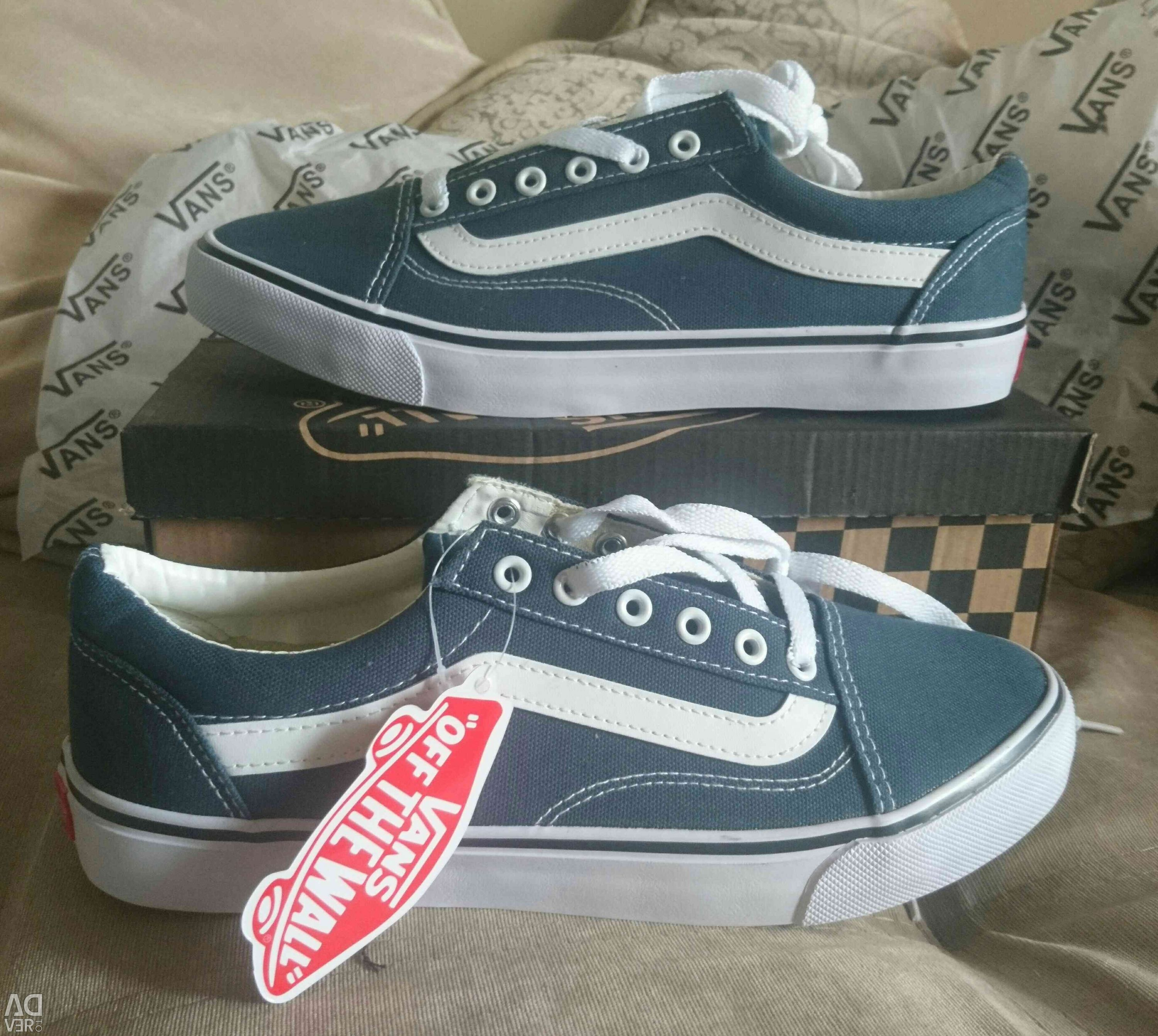 Vans blue 42 size - Advert to sell, price 1 490 RUB, Posted: 29.08 ...
