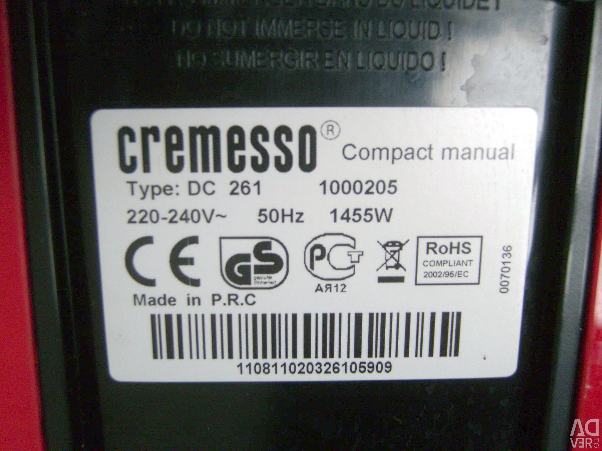 Cremesso Coffee Machine Capsular Spare Parts City Moscow