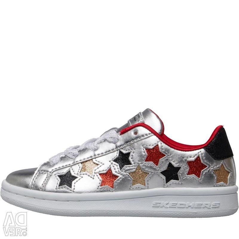 SKECHERS Girls Omne Lil Star Side