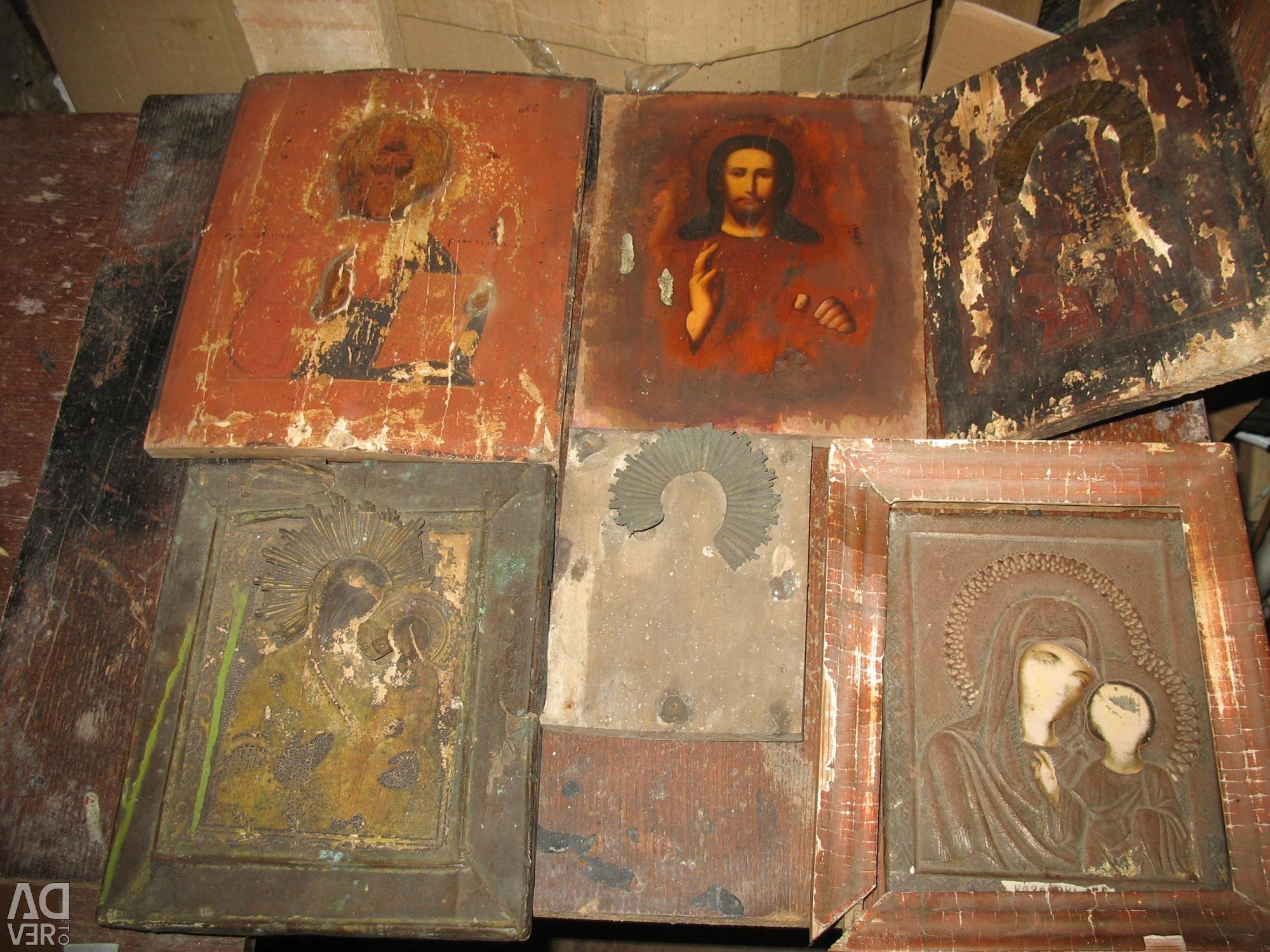 Коллекция старинных икон фото
