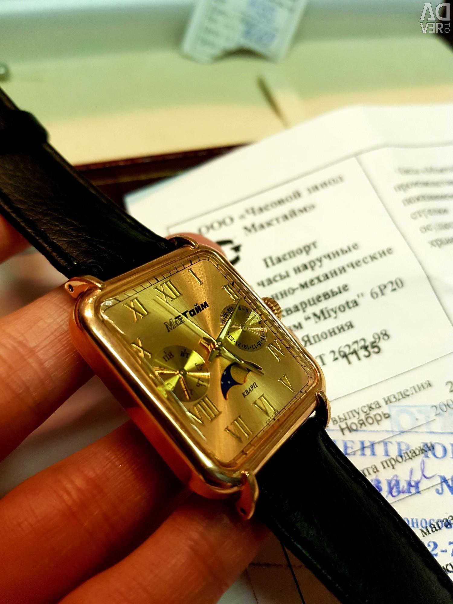 Часы мактайм новые продать золотые вымпел продам часы