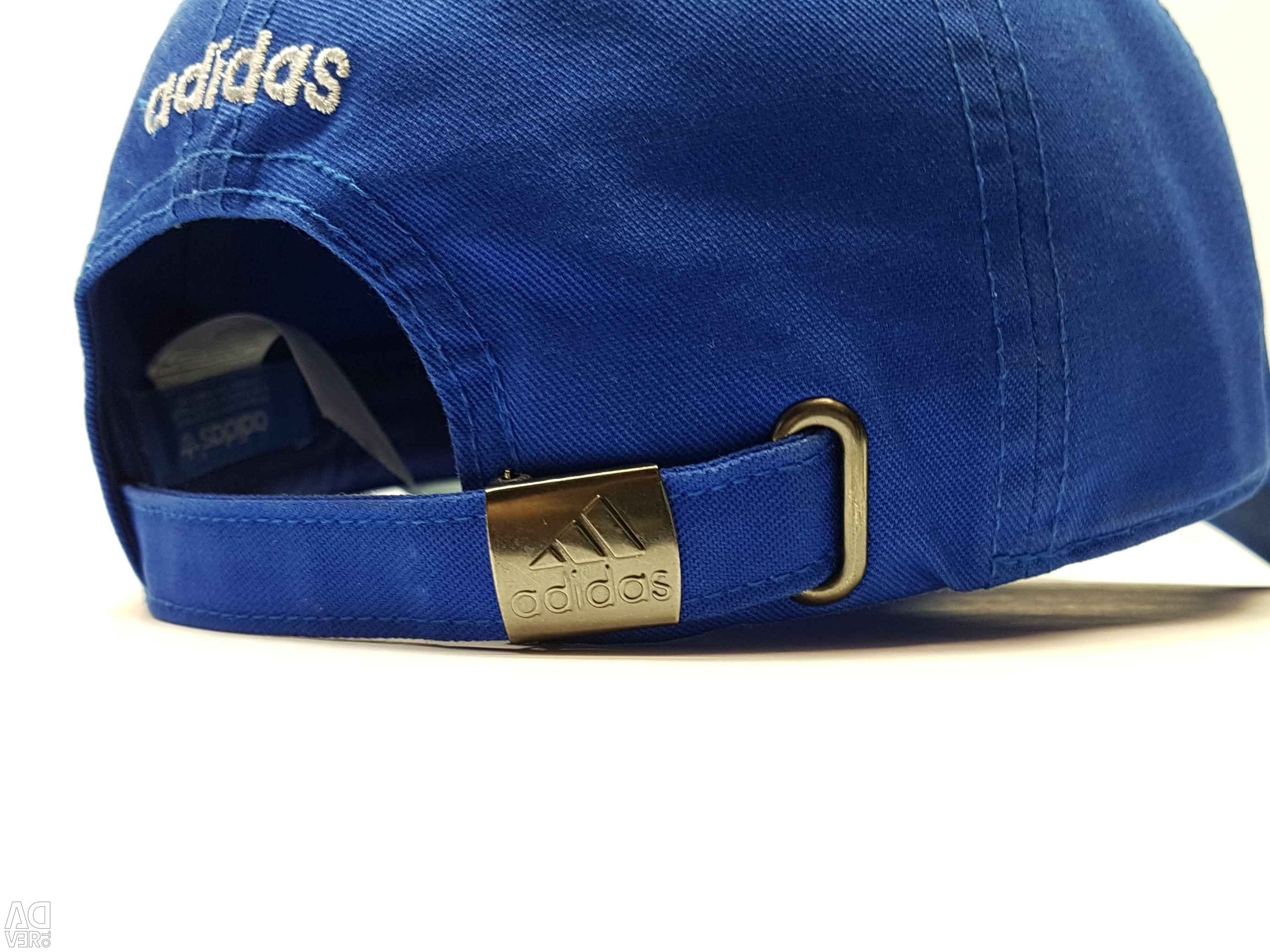 Adidas classic baseball cap (blue neon), city Moscow