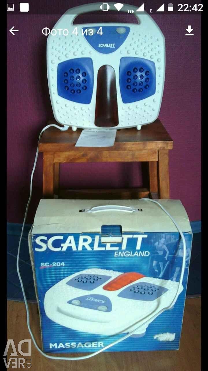 Scarlett sc 204 массажер стимулятор мышц массажер